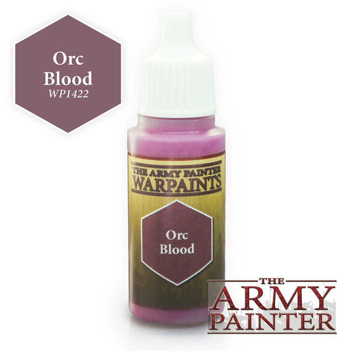 Army Painter Warpaints - Orc Blood The Army Painter | Cardboard Memories Inc.