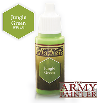 Army Painter Warpaints - Jungle Green The Army Painter | Cardboard Memories Inc.