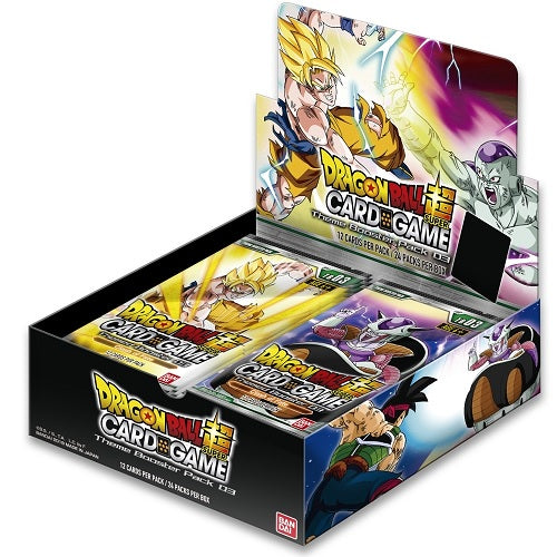 Bandai - Dragon Ball Super - Clash of Fate - Themed Booster Set 03 - Booster Box