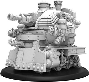 Privateer Press - Warmachine - Golden Crucible - Railless Interceptor - Crucible Guard Battle Engine - PIP 37018