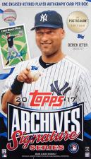 2017 Topps Archives Signature Series Baseball Hobby Box Topps | Cardboard Memories Inc.