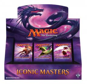 Magic the Gathering Iconic Masters Booster Box Magic The Gathering | Cardboard Memories Inc.