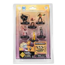 DC HeroClix - Harley Quinn & the Gotham Girls - Fast Forces Pack Wizkids | Cardboard Memories Inc.
