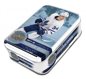 2017-18 Upper Deck Series 1 Hockey Tin Upper Deck | Cardboard Memories Inc.