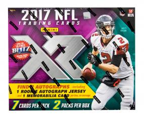 2017 Panini XR Football Hobby Box Panini | Cardboard Memories Inc.