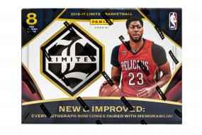 2016-17 Panini Limited Basketball Hobby Box Panini | Cardboard Memories Inc.