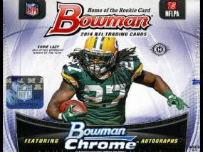 2014 Topps Bowman Football Hobby Box Topps | Cardboard Memories Inc.
