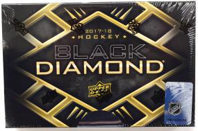 2017-18 Upper Deck Black Diamond Hockey Hobby Box Upper Deck | Cardboard Memories Inc.