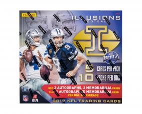 2017 Panini Illusions Football Hobby Box Panini | Cardboard Memories Inc.