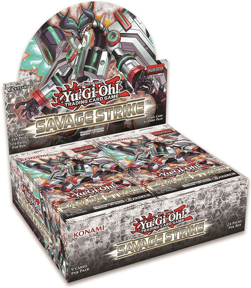 Konami - Yu-Gi-Oh! - Savage Strike - Booster Box