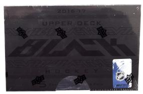 2016-17 Upper Deck Black Hockey Hobby Box Upper Deck | Cardboard Memories Inc.