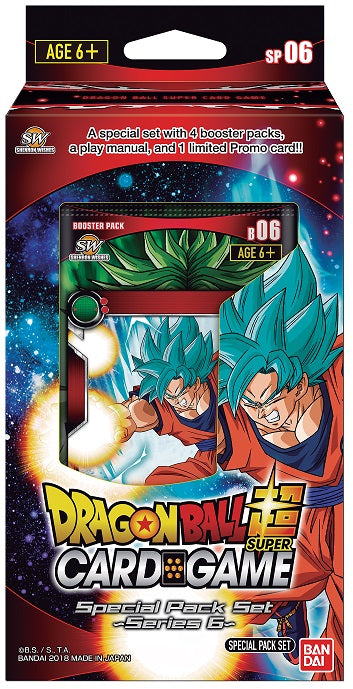 Dragon Ball 6 Destroyer Kings Super Set Special Pack