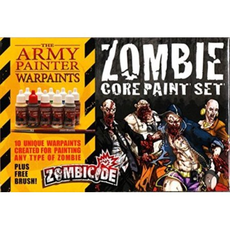 Army Painter War Paints Zombicide - Zombie Core Paint Set The Army Painter | Cardboard Memories Inc.