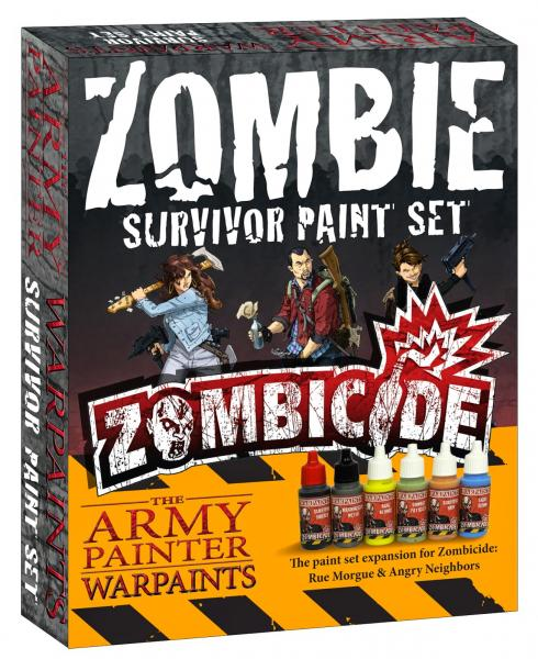 Army Painter Warpaints Zombicide - Zombie Survivor Paint Set The Army Painter | Cardboard Memories Inc.