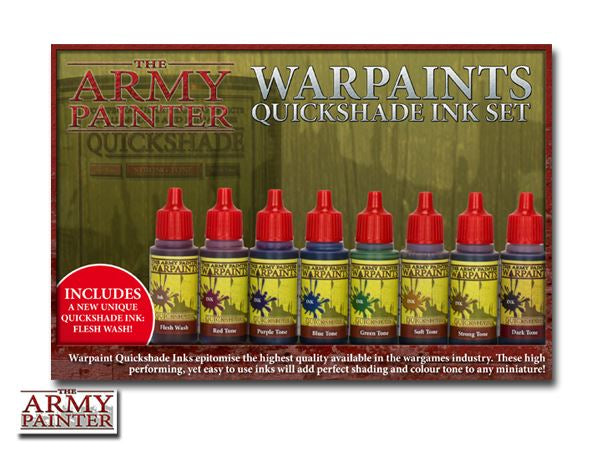 Army Painter Warpaints - Quickshade Ink Set The Army Painter | Cardboard Memories Inc.