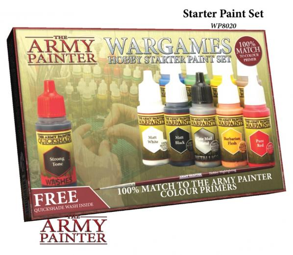 Army Painter - Wargames Hobby Starter Paint Set The Army Painter | Cardboard Memories Inc.