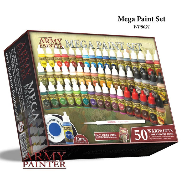 Army Painter - Mega Paint Set The Army Painter | Cardboard Memories Inc.