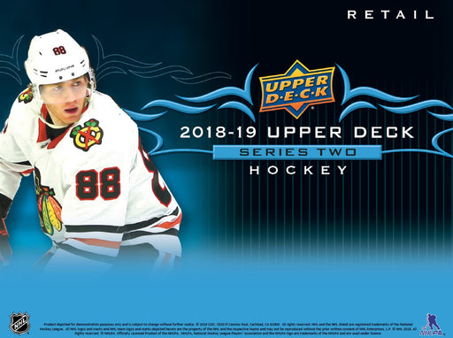 2018-19 Upper Deck Series 2 Hockey Fat Pack