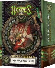 Hordes - Circle Orboros - 2016 Faction Deck - PIP 91111 Privateer Press | Cardboard Memories Inc.