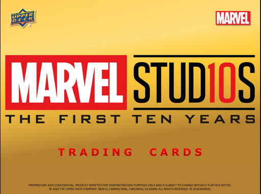Marvel Cinematic Universe 10th Anniversary Hobby Box