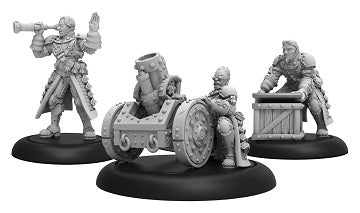Warmachine - Mercenaries - Steelhead Mortor Crew Unit Blister - PIP 41155