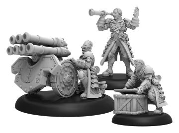 Warmachine - Mercenaries - Steelhead Volley Gun Crew Unit Blister - PIP 41157