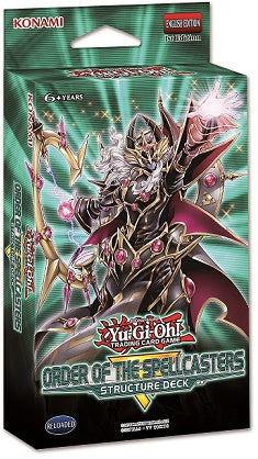 Yu-Gi-Oh! - Order of the Spellcasters - Structure Deck