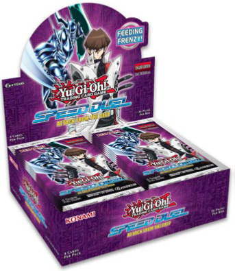 Konami - Yu-Gi-Oh! - Speed Duel - Attack from the Deep - Booster Box
