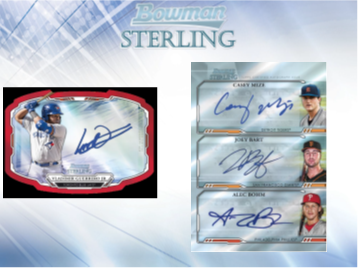 2019 Bowman Sterling Baseball Hobby Box (Pre-Order August 14th, 2019)