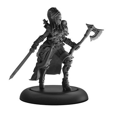 Warmachine - Mercenaries - Captain Rahera Terror Wailing Sea Warcaster - PIP 41159 (Pre-Order June 28th, 2019)