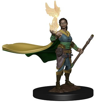 Wizkids - Dungeons and Dragons - Premium Miniatures - Female Elf Druid - 73821
