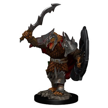 Wizkids - Dungeons and Dragons - Premium Miniatures - Male Dragonborne Fighter - 73822