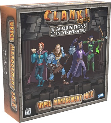 Renegade Game Studios - Clank! - Legacy Acquisitions Inc - Upper Managment