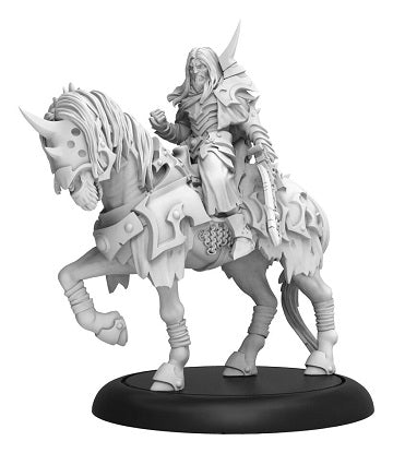 Warmachine - Infernal - Valin Hauke Fallen Knight Cavarly Solo Blister - PIP 38001 (Pre-Order July 12th, 2019)
