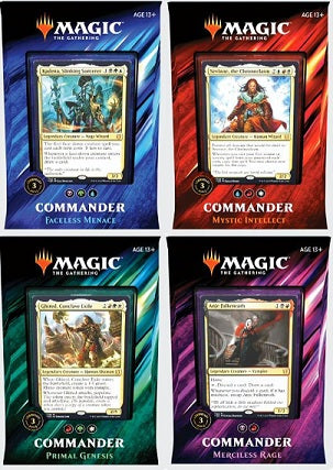 Magic the Gathering - Commander 2019 - Set of Four