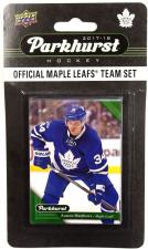 2017-18 Upper Deck Parkhurst Hockey Team Set - Toronto Maple Leafs Upper Deck | Cardboard Memories Inc.