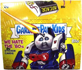 2018 Garbage Pail Kids Series 1 - We Hate the 80s Hobby Box Topps | Cardboard Memories Inc.