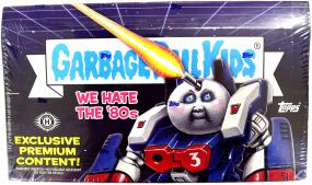 2018 Garbage Pail Kids Series 1 - We Hate the 80s Collector's Box Topps | Cardboard Memories Inc.