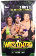 2018 Topps Road to Wrestlemania WWE Hobby Box Topps | Cardboard Memories Inc.