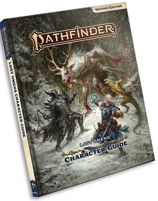 Paizo - Pathfinder - 2E - Lost Omens - Character Guide - Hardcover - Pre-Order October 16th 2019