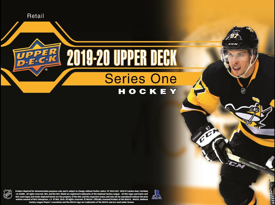 Upper Deck - 2019-20 - Hockey - Series 1 - Fat Pack