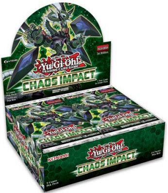 Konami - Yu-Gi-Oh! - Chaos Impact - Booster Box - Pre-Order October 25th 2019