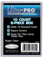 Ultra Pro 2-Piece Box - 10 Count Ultra Pro | Cardboard Memories Inc.