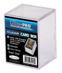 Ultra Pro 2-Piece Box - 100 Count Gaming Ultra Pro | Cardboard Memories Inc.