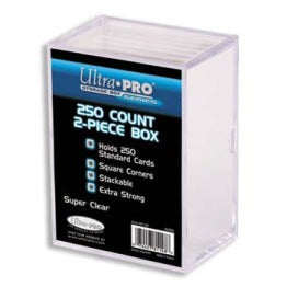 Ultra Pro 2-Piece Box - 250 Count Ultra Pro | Cardboard Memories Inc.