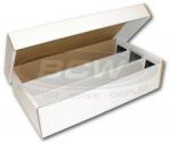 3000 Count Cardboard Card Box - Super Shoebox Style Ultra Pro | Cardboard Memories Inc.