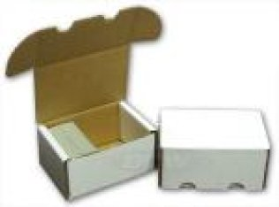 300 Count Cardboard Card Box Ultra Pro | Cardboard Memories Inc.