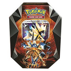 Pokemon Spring 2018 Tin - Dusk Mane Necrozma-GX Pokemon | Cardboard Memories Inc.