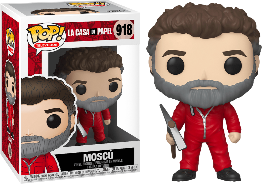POP! - Money Heist - La Casa De Papel - Moscu