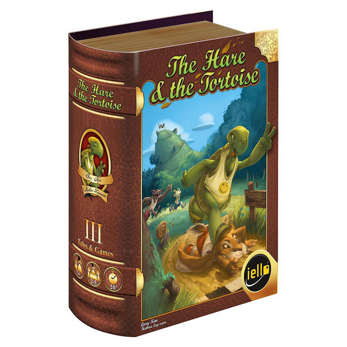 The Hare & the Tortoise Iello Games | Cardboard Memories Inc.